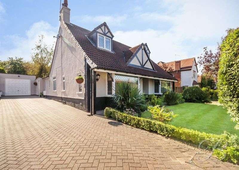 4 Bedrooms Detached Bungalow for sale in Nottingham Road, Mansfield