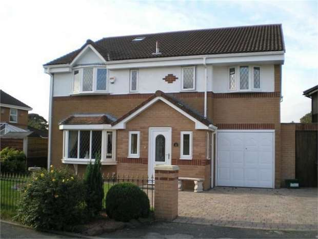 6 Bedrooms Detached House for sale in Brindley Close, Farnworth, Bolton, Lancashire