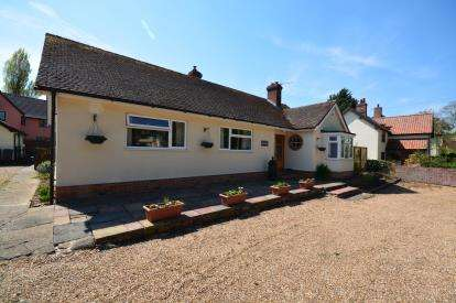 3 Bedrooms Bungalow for sale in Wilby, Eye, Suffolk