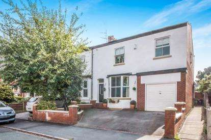5 Bedrooms End Of Terrace House for sale in Temple Road, Sale, Greater Manchester, Cheshire