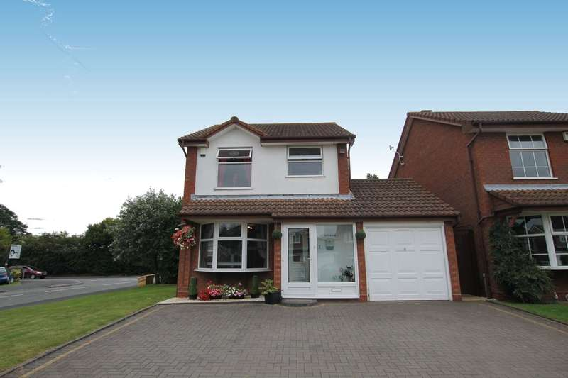 3 Bedrooms Detached House for sale in Ashtead Close, Minworth, Sutton Coldfield, B76 1YH