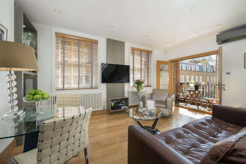 2 Bedrooms Mews House for sale in Weymouth Mews, Marylebone, London, W1G 7EA