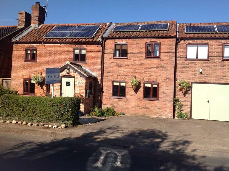 4 Bedrooms Cottage House for sale in Totties Cottage, Seething Street, Seething