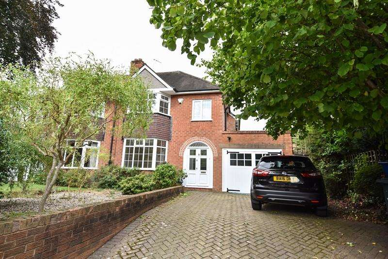 4 Bedrooms Semi Detached House for sale in Oakfield Road, Selly Park
