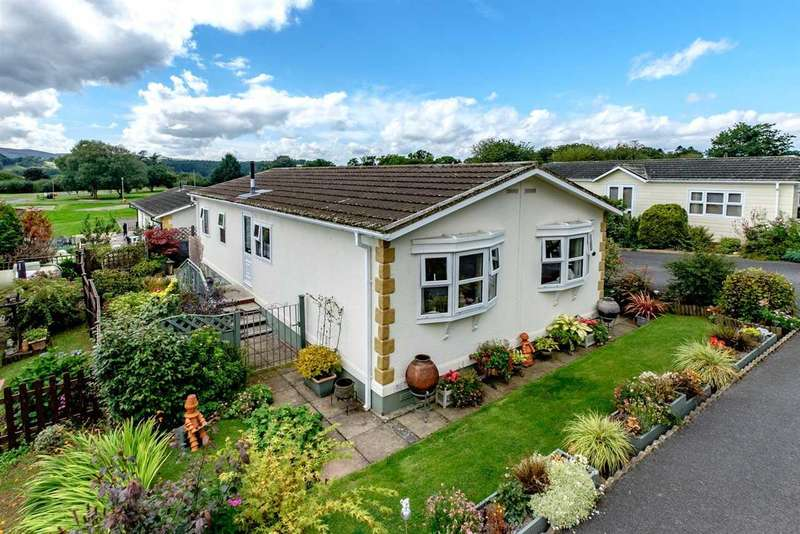 2 Bedrooms Park Home Mobile Home for sale in The Glade, Caerwnon Park, Builth Wells