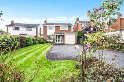 3 Bedrooms Detached House for sale in Fernhill Drive, Leamington Spa, Warwickshire