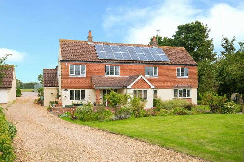 5 Bedrooms Detached House for sale in Green Lane, Eaton Bray