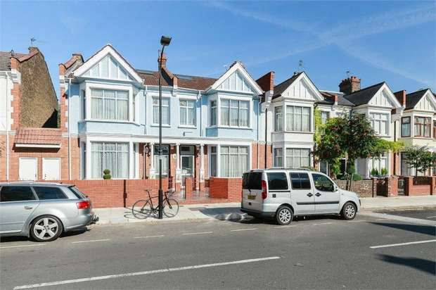 5 Bedrooms Terraced House for sale in Wormholt Road, London