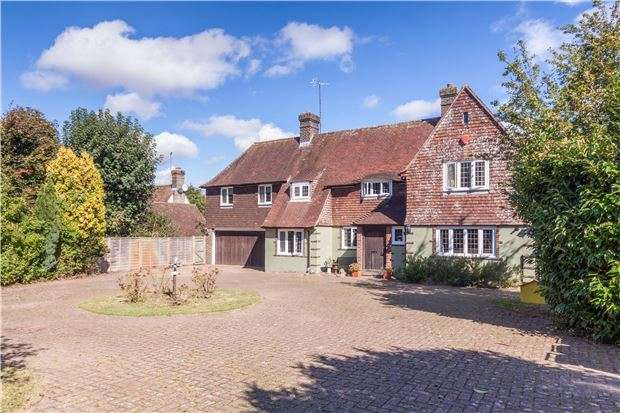 4 Bedrooms Detached House for sale in Huggetts Lane, EASTBOURNE, East Sussex, BN22 0LH