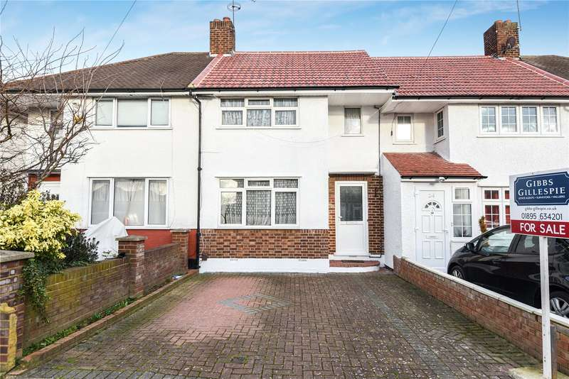 Terraced house in  Canfield Drive  Ruislip  Middlesex  HA4  Richmond