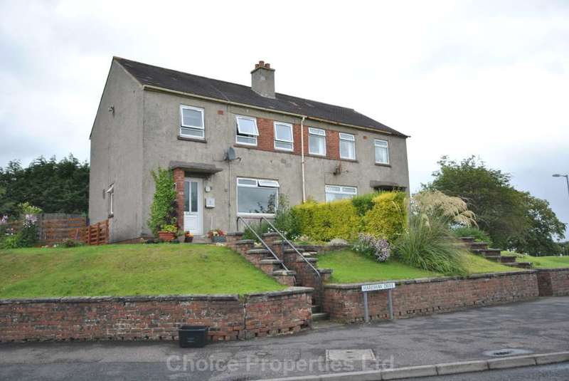 3 Bedrooms Semi Detached House for sale in Hareshaw Drive, Kilmarnock, KA3 2EY