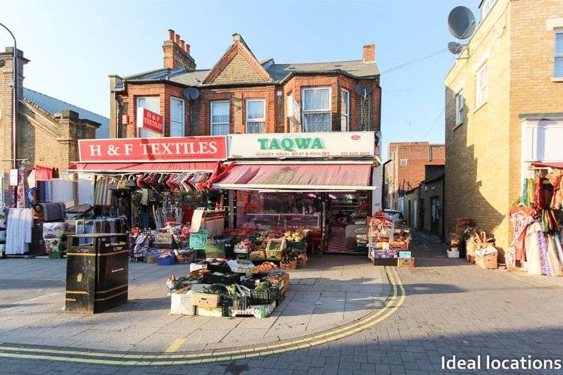 Commercial Property for sale in Freehold Shop, Flat and Yard, Myrtle Road, East Ham, London