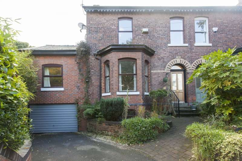 4 Bedrooms Semi Detached House for sale in Leegate Road, Stockport, Cheshire, SK4