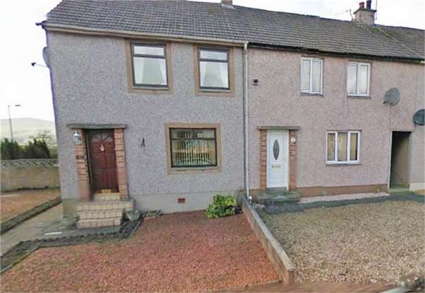 2 Bedrooms End Of Terrace House for sale in Dalgarnock Road, Thornhill, Dumfries and Galloway