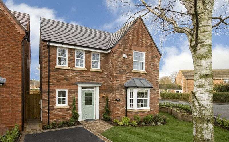 4 Bedrooms Detached House for sale in Plot 1 The Greyhound, Swindon