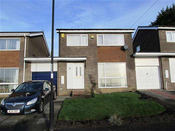 3 Bedrooms Detached House for sale in Ellington Close, Newcastle upon Tyne