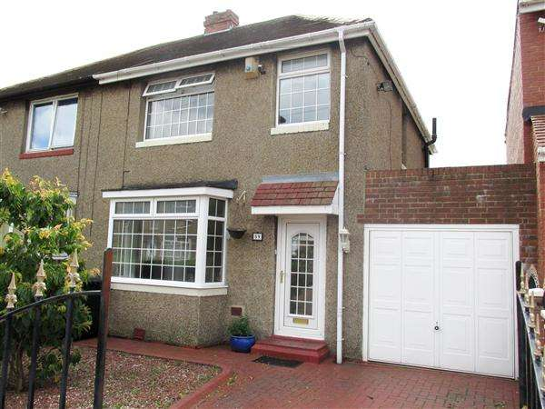 3 Bedrooms Semi Detached House for sale in Northcote Avenue, Chapel House, Newcastle upon Tyne