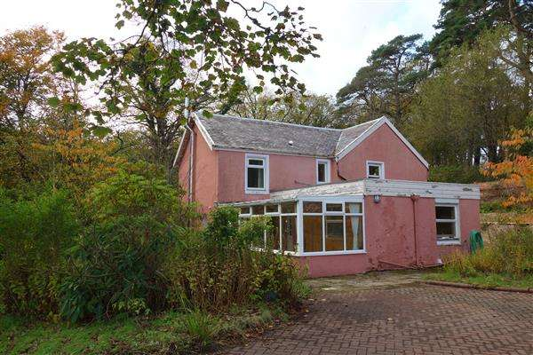 2 Bedrooms Detached House for sale in The Lodge, Dippen, Carradale