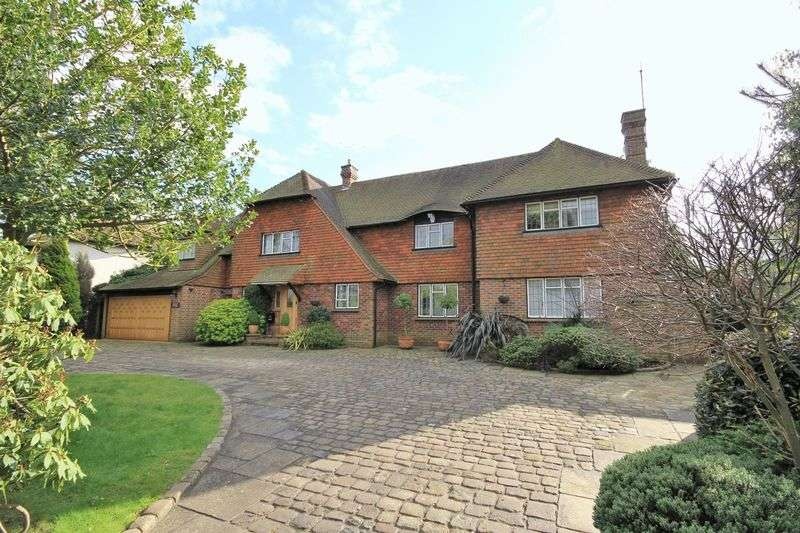 5 Bedrooms Detached House for sale in Challacombe Close, Hutton Mount