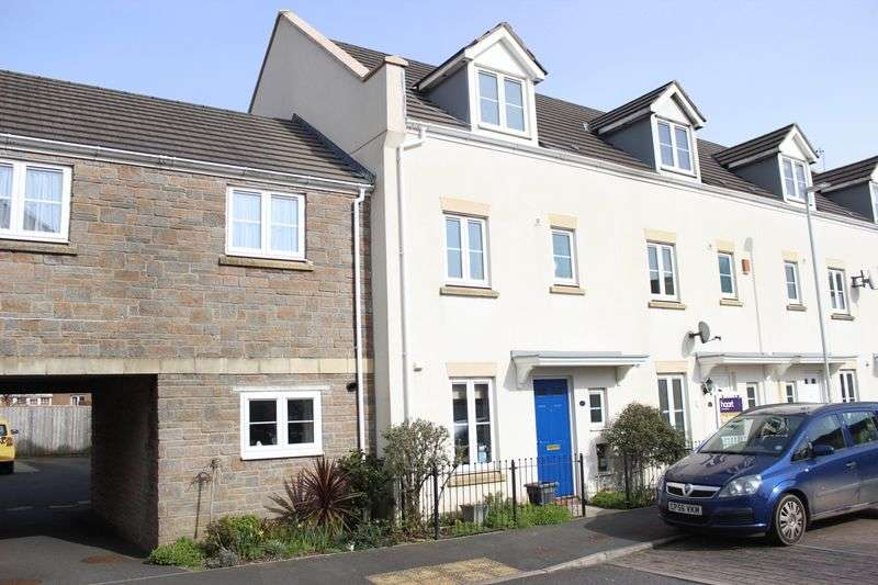 4 Bedrooms Terraced House for sale in Barlow Gardens, Beacon Park, Plymouth