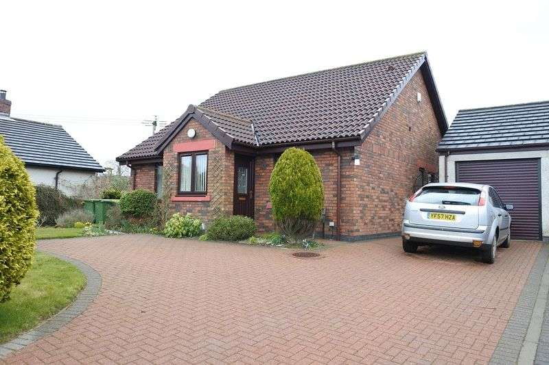 3 Bedrooms Detached Bungalow for sale in Dale View, Laversdale