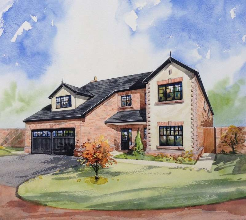 5 Bedrooms Detached House for sale in The Capesthorne, Northwich Road, Cranage