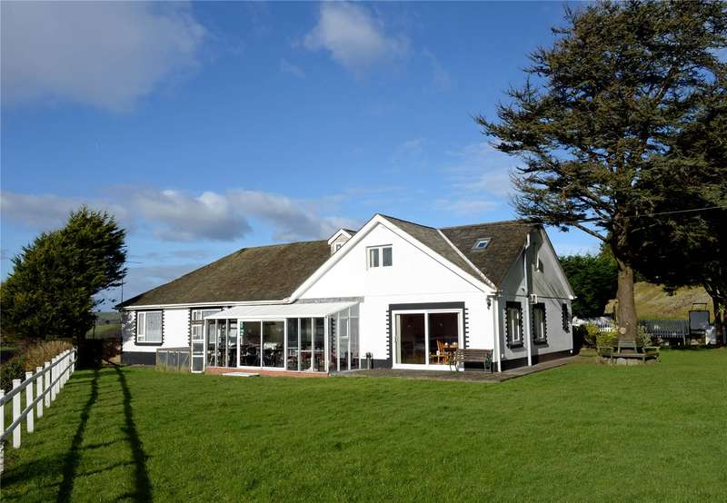 6 Bedrooms Detached Bungalow for sale in Keepers Cottage, Laugharne, Carmarthen, Carmarthenshire