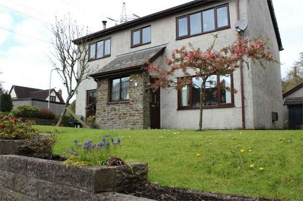 4 Bedrooms Detached House for sale in Swn Yr Afon, Kenfig Hill, Bridgend, Mid Glamorgan