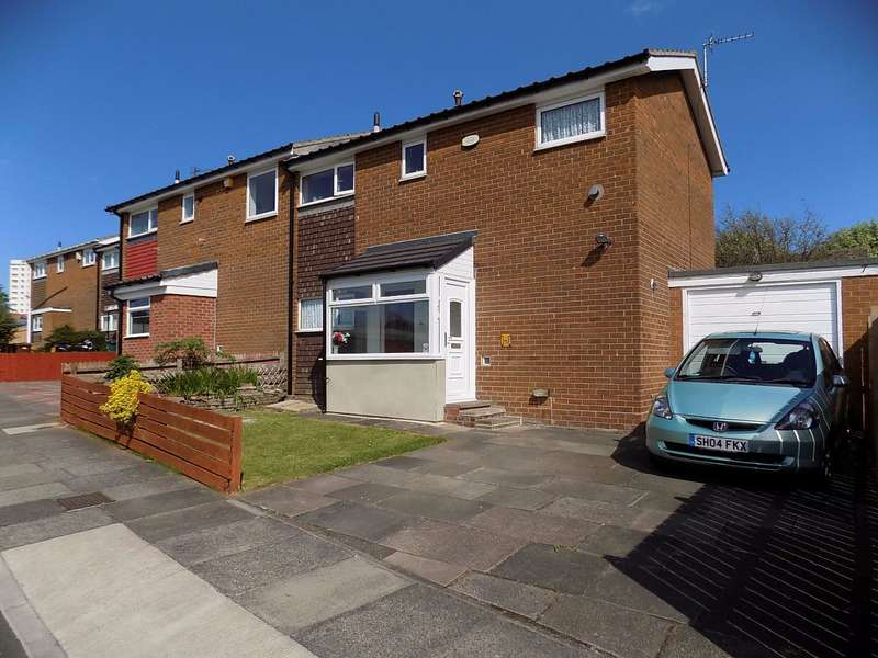 3 Bedrooms Semi Detached House for sale in Gishford Way, Newcastle upon Tyne