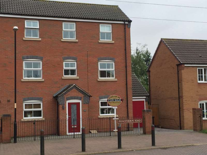 4 Bedrooms Semi Detached House for sale in Princethorpe Rd, Willenhall