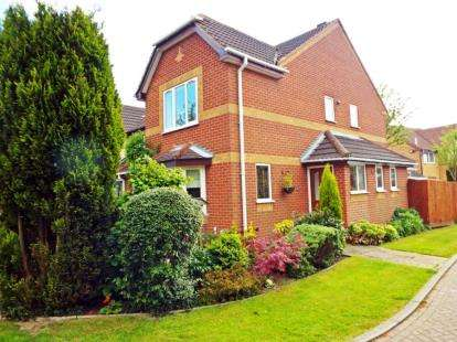 4 Bedrooms Detached House for sale in Ennerdale Gardens, Ashby-de-la-Zouch, Leicestershire
