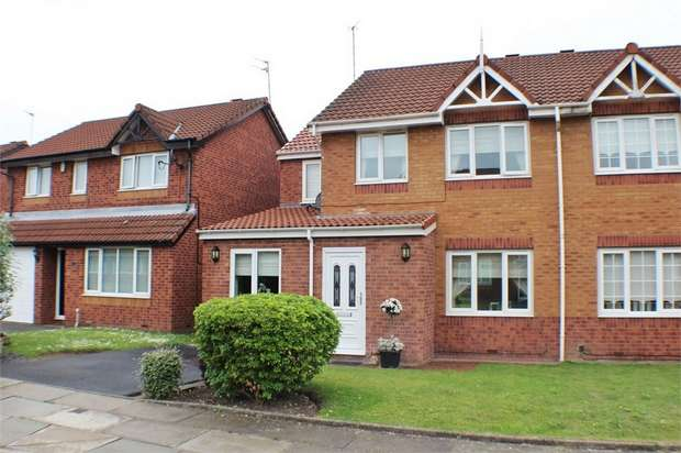 4 Bedrooms Semi Detached House for sale in Heatherleigh Close, Liverpool, Merseyside