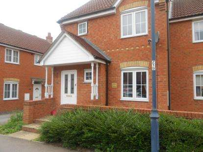 3 Bedrooms Semi Detached House for sale in The Glebe, Clapham, Bedford, Bedfordshire