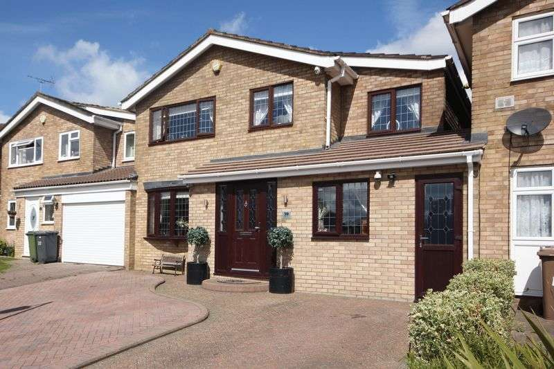 5 Bedrooms Detached House for sale in Leyhill Drive, Luton