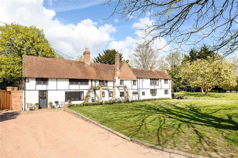 4 Bedrooms Detached House for sale in The Bridge House & Stables, Arborfield, Reading, Berkshire, RG2