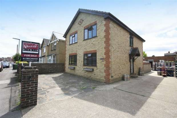 4 Bedrooms Detached House for sale in Chesterfield Road, Ashford, Surrey