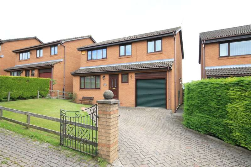 4 Bedrooms Detached House for sale in Westhills, Tantobie, Stanley, DH9