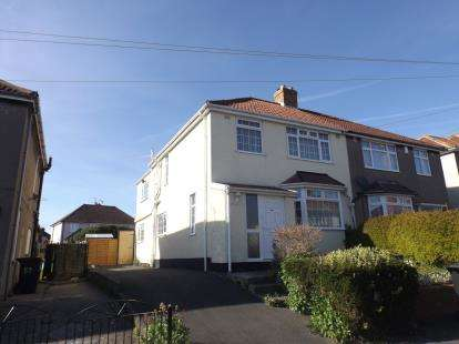 4 Bedrooms Semi Detached House for sale in Hillyfield Road, Bristol, Somerset