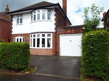 3 Bedrooms Detached House for sale in Bramcote Drive, Wollaton, Nottingham, Nottinghamshire