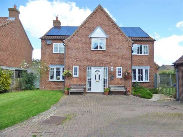 4 Bedrooms Detached House for sale in High Street, Glentham, Market Rasen, Lincolnshire