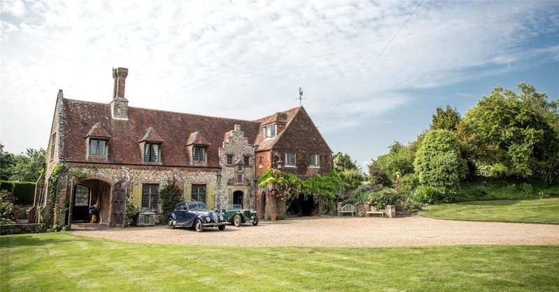 6 Bedrooms Detached House for sale in Cutmill, Bosham, Chichester, West Sussex, PO18