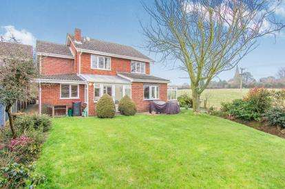 4 Bedrooms Detached House for sale in Bishops Cleeve, Austrey, Atherstone, Warwickshire
