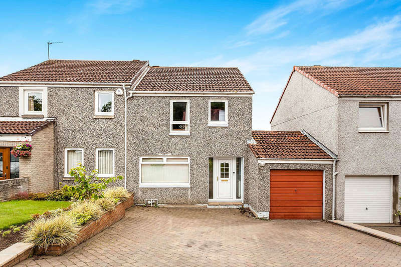 3 Bedrooms Semi Detached House for sale in Kippielaw Walk, Easthouses, Dalkeith, EH22