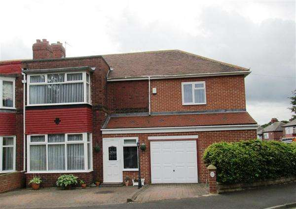 4 Bedrooms Semi Detached House for sale in Denhill Park, Newcastle upon Tyne