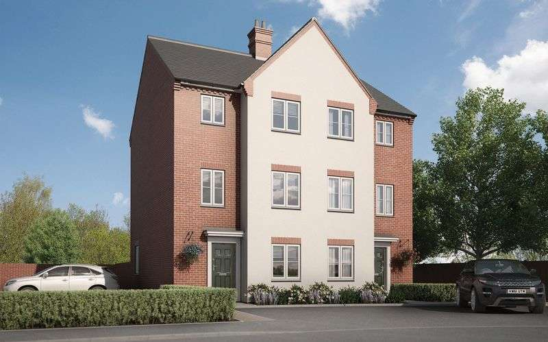 4 Bedrooms Semi Detached House for sale in Stafford Place, Aylesbury