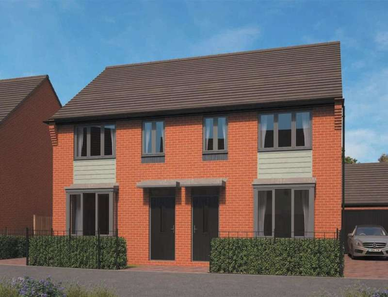 3 Bedrooms Semi Detached House for sale in Eastfields, Lawley Village, Telford, TF3