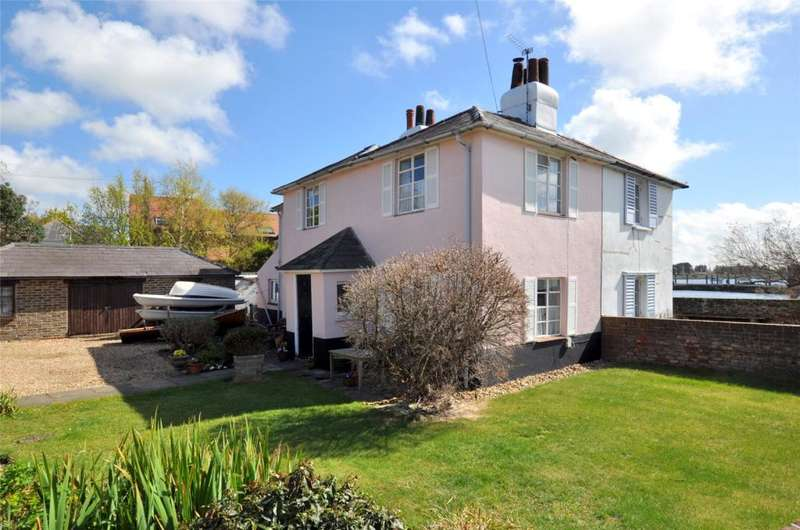 2 Bedrooms Semi Detached House for sale in Bath Road, Emsworth, Hampshire, PO10