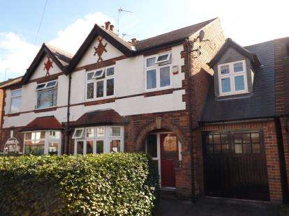 4 Bedrooms Semi Detached House for sale in Seymour Road, West Bridgford, Nottingham