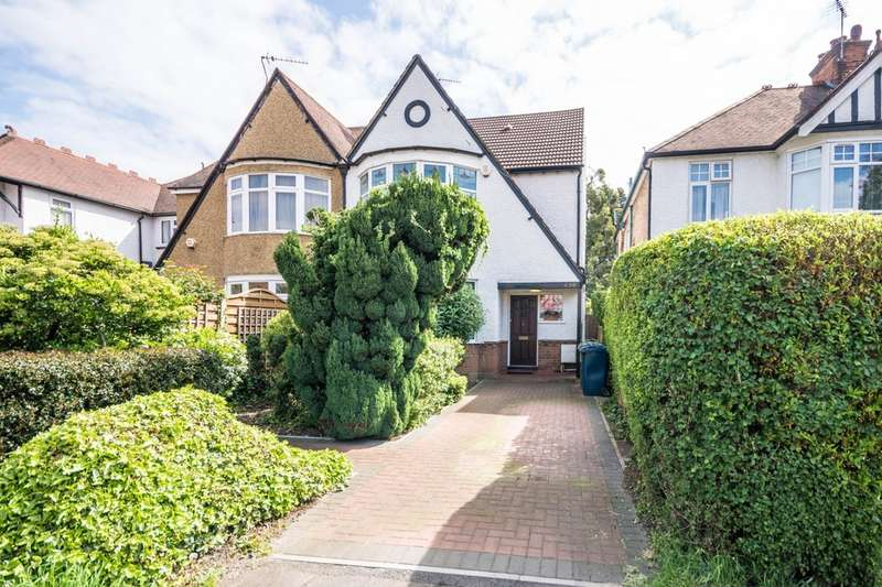 4 Bedrooms Semi Detached House for sale in Pinner Road, North Harrow