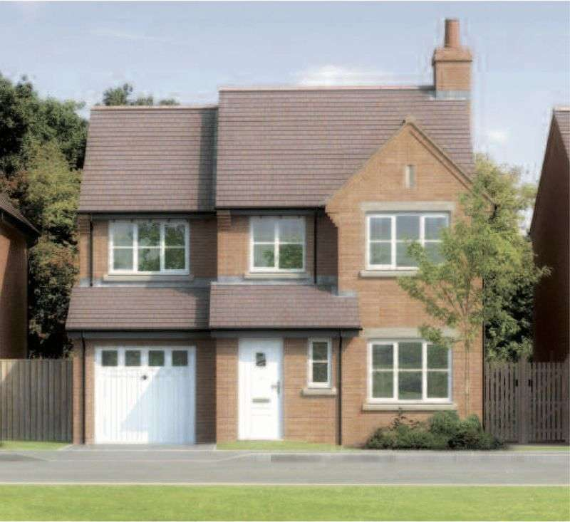 4 Bedrooms Detached House for sale in Plot 11, The Overton, The Meadows, Cockshutt
